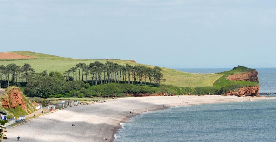Budleigh Salterton Beach Devon Guide