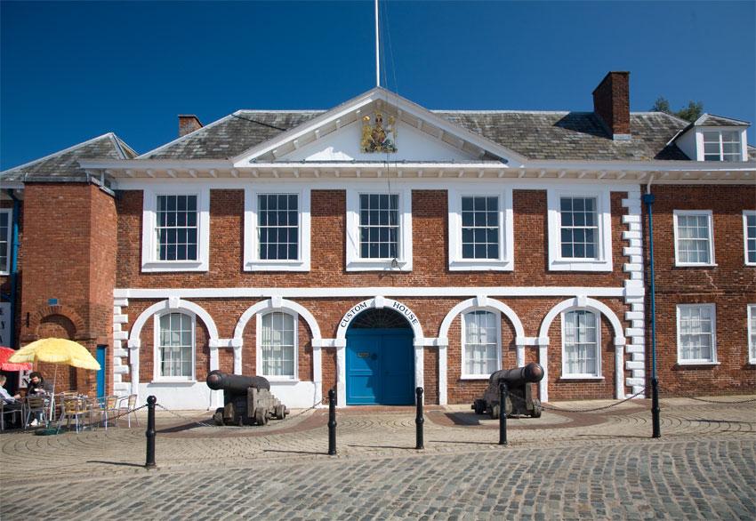 Custom House Exeter Quayside Devon Guide