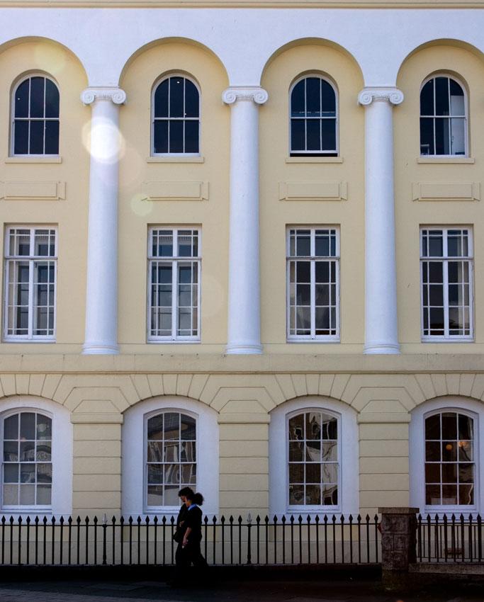 georgian facade plymouth devon guide