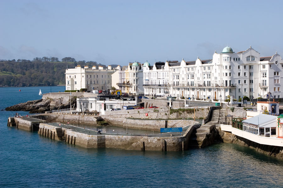 Grand Parade Sea Front Plymouth Devon Guide