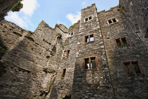 Berry Pomeroy Castle interior