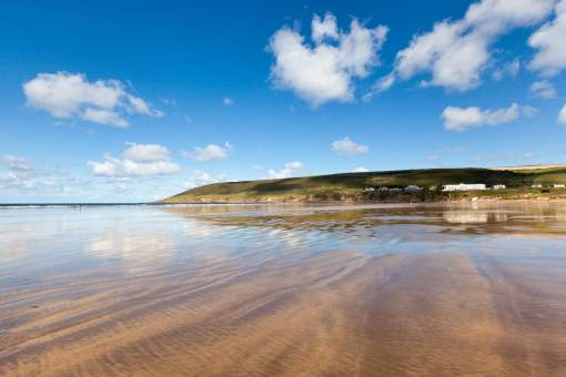 Saunton Sands beach - North Devon