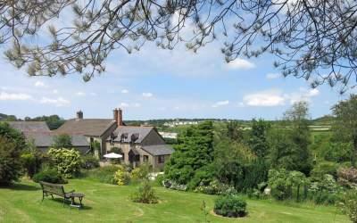 Huxtable Farm B&B, North Devon