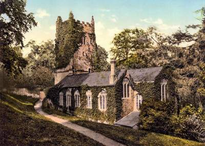 Cockington church
