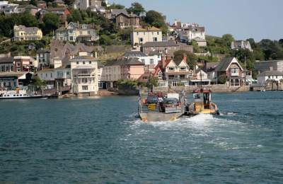 Kingswear - Dartmouth Ferry