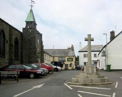 Hartland village