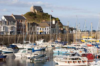 St Nicholas' Chapel and Ilfracombe Harbour