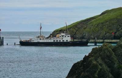MS Oldenburg - Lundy ferry