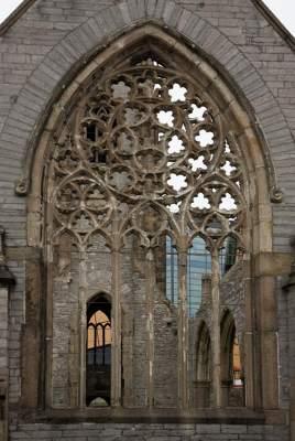 Bomb damaged church, Plymouth