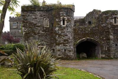 Tavistock Abbey ruins
