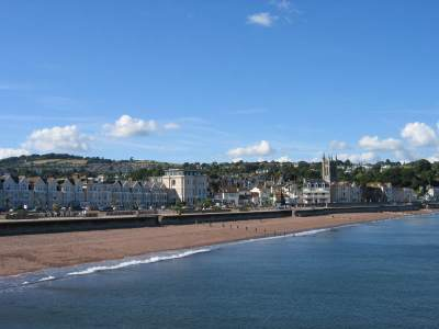 Teignmouth beach front