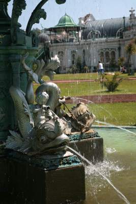 Princess Gardens Fountain Detail - Torquay