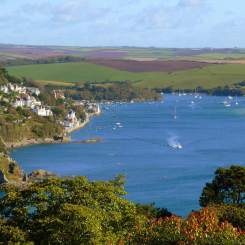 Salcombe from Overbeck's