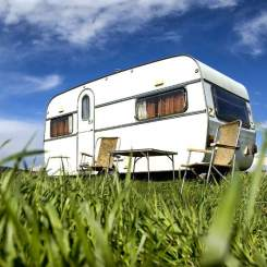 Camping and caravan sites