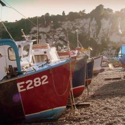 Fishing Boats - Beer Beach