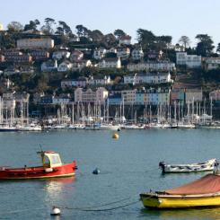 Dartmouth across the Dart