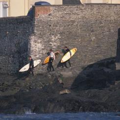 Croyde Surfers