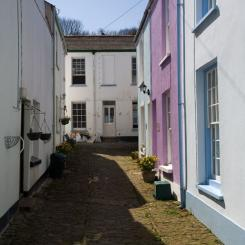 Cobbled Alley - Appledore