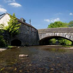 Bridge over River Batherm - Bampton