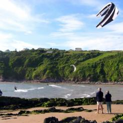 Kite Surfing at Bantham