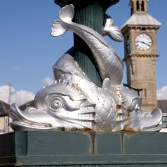 Barnstaple Lamp Detail