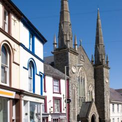 Church on  Brigeland Street - Bideford