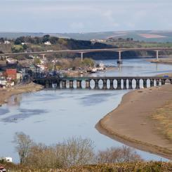 Bideford and River Torridge View