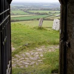 View from Brentor Chapel