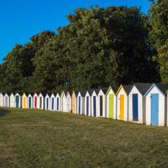 Broadsands beach huts