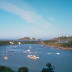 River Avon and Burgh Island