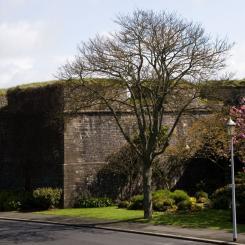 The Royal Citadel Walls - Plymouth