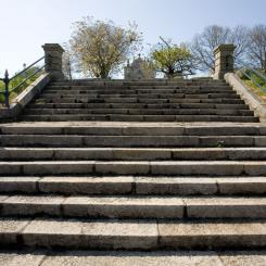 Steps in front of the Citadel
