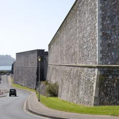 Royal Citadel Walls - Plymouth