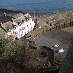 Harbour and Red Lion Hotel - Clovelly