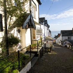Clovelly High Street