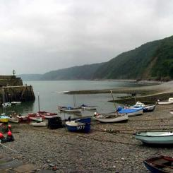 Clovelly Harbour Panorama