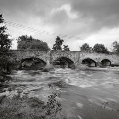 Culmstock Bridge - Black and White