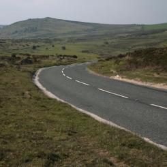 Winding Road - Eastern Dartmoor