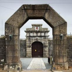 Dartmoor Prison Entrance