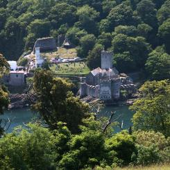 Dartmouth Castle view