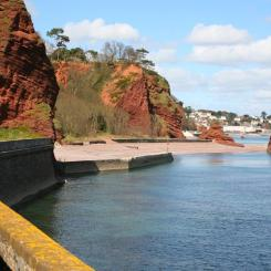 Horse Cove Cliffs - Dawlish