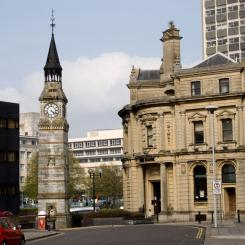 Derry's Clock and The Bank - Plymouth