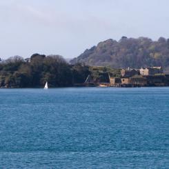 Drake's Island - Plymouth Sound