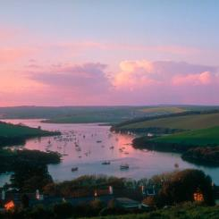 Kingsbridge Estuary at Dusk