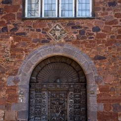 Mediaeval Detail - Cathedral Close Exeter