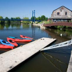 Exeter Quay - Canoes and Bridges