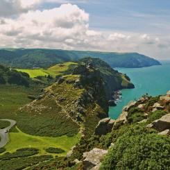 Exmoor Coast  Valley of the Rocks