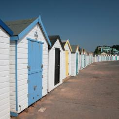 Goodrington Sands Beach Huts