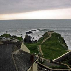 Headland at Hartland Quay