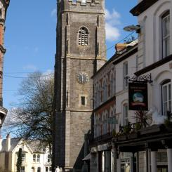 Holsworthy Church from Fore Street